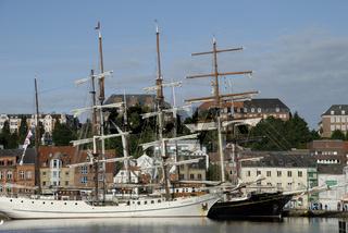 SS Artemis in Flensburg