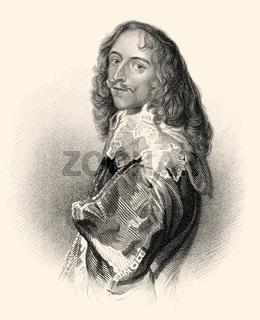 Robert Dormer, 1st Earl of Carnarvon, 1610-1643, an English peer