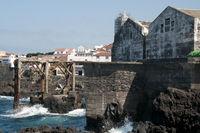 die alte Werft in Garachico auf der kanarischen Insel Teneriffa