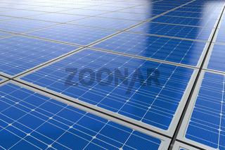 Photovoltaik Solarzellen Hintergrund 3