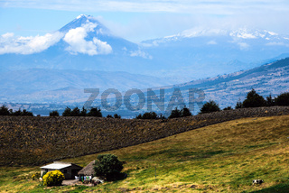 Tungurahua and Altar Volcanoes, Andes of central Ecuador