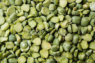 dried peas texture