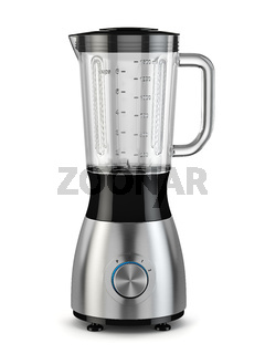 Electric blender. Kitchen appliance, equipment isolated on white.