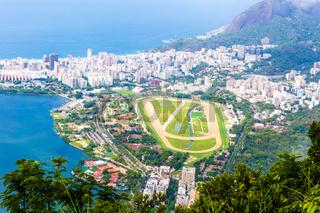 Luftaufnahme von Rio de Janeiro, Brasilien