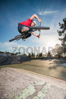 BMX Bike Stunt Table Top