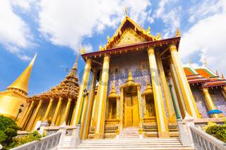Wat Phra Kaew temple, Bangkok, Thailand.