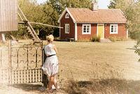Sommer auf der Insel Öland, Schweden