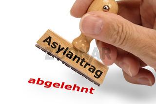 Asylantrag abgelehnt