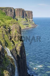 Basaltklippen genannt Kilt Rock