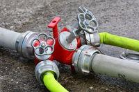 Verteiler für Feuerwehrschläuche,Kupplung