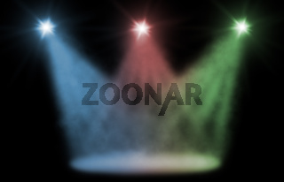 stage spot lighting background