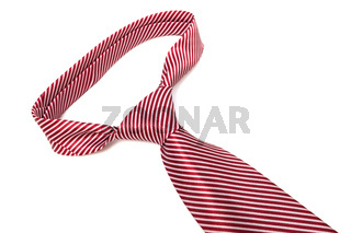 knot red tie