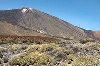 Vulkan Pico del Teide auf der kanarischen Insel Teneriffa