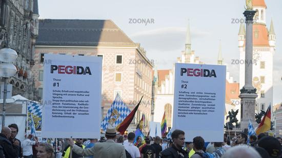 Pegida Demonstration