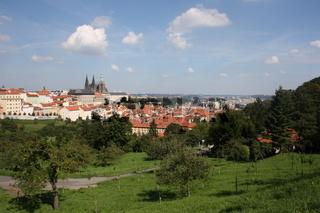 Prag, Panorama mit Veitsdom