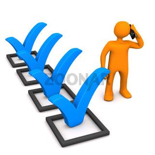 Manikin Checklist Smartphone