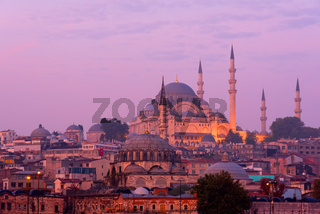 Die Süleymaniye-Moschee in Istanbul