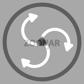Fan Rotation Rounded Icon
