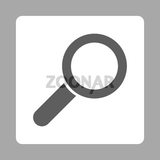 Zoom Rounded Square Button