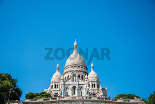 Paris - SEPTEMBER 12, 2012: Basilique du Sacre Coeur on Septembe