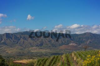 Berglandschaft Sizilien