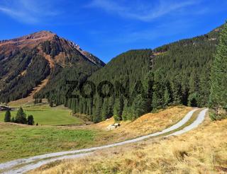 Valley in Austria