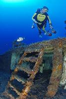 Shipwreck MV Cominoland, Gozo, Malta