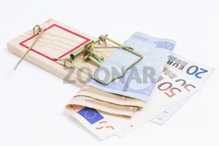 Mausfalle und Euro