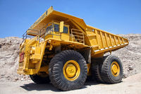 Truck in der Mine Chuquicamata, Chile