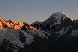 Sunrise over Mt Cook