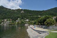 Cannero riviera am Lago Maggiore Italien