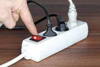abschalten und Strom sparen