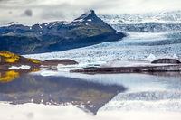 Glacier meltwater