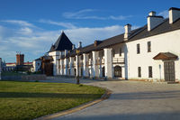 The Pontifical stables on the territory of Tobolsk kremlin. Tobolsk. Russia