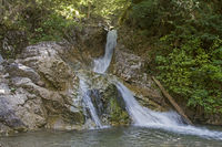 Wasserfall im Loisachtal