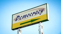 Street Sign to Democracy