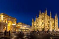 Milan Cathedral and Piazza Duomo