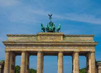 Brandenburger Tor (Brandenburg Gate) in Berlin