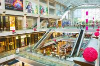 Marina Bay shopping mall, Singapore