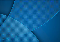 Blue Abstract Background with Grid Pattern