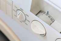 Old dirty washing machine