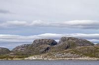 Landschaft bei Sandviksberget
