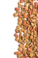 Dry pet food.