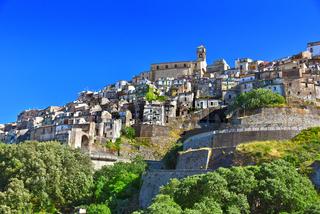 The village of Badolato, Calabria, Italy
