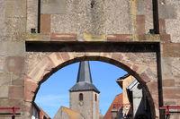 Stadttor in Fenetrange (Lothringen)
