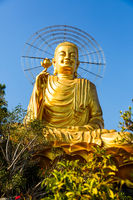 Seated Buddha in Vietnam