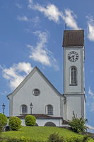 Kirche St. Gallus, Kriens, Schweiz