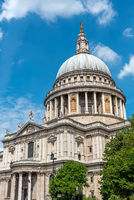 Die imposante St. Paul´s Kathedrale in London