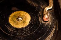 Decorative Retro Record Player
