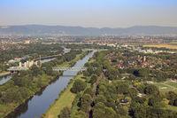Neckar, Flusslandschaft